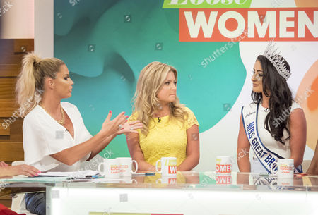 Katie Price, Zara Holland and Deone Robertson