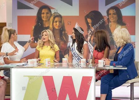 Katie Price, Zara Holland, Deone Robertson, June Sarpong and Sherrie Hewson