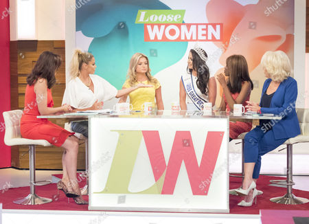 Andrea McLean, Katie Price, Zara Holland, Deone Robertson, June Sarpong and Sherrie Hewson