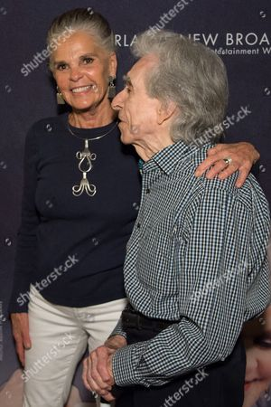 Stock Picture of Ali MacGraw and Arthur Hiller