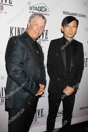 John Graham and Takeshi Nozue