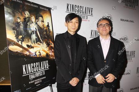 Takeshi Nozue and Yosuke Matsuda