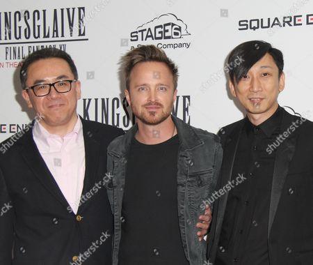 Yosuke Matsuda, Aaron Paul, Takeshi Nozue