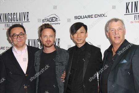 Yosuke Matsuda, Aaron Paul, Takeshi Nozue, John R Graham