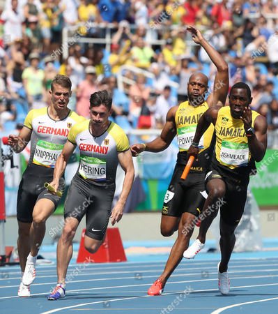 Editorial picture of Rio 2016 Olympic Games, Athletics, Olympic Stadium, Brazil - 18 Aug 2016