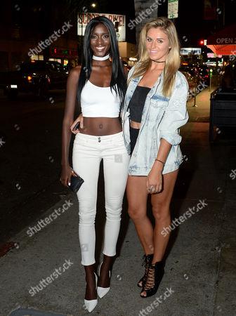 Zeta Morrison and Olivia Flowers