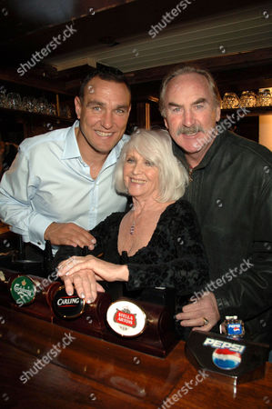 Vinnie Jones, Vera Day and P H Moriarty