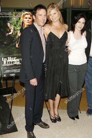 David Millbern, Mariel Hemingway and Jill Bennett