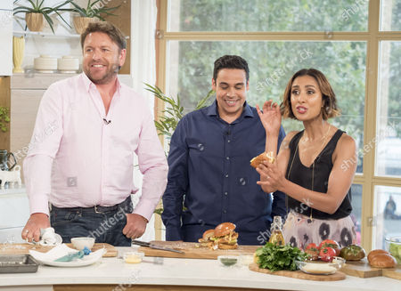 James Martin, Paul Ainsworth and Anita Rani