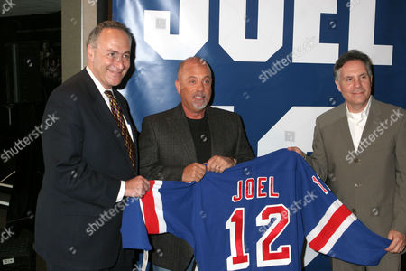 Charles E Schumer, Billy Joel and Jay Marciano