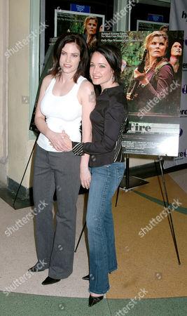 Jill Bennett and Jaime Sher