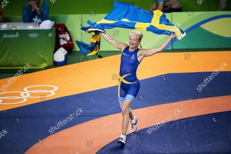 Sofia Mattsson, Sweden Women's Freestyle 53 kg Bronze medal match
