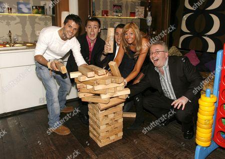 Play Channel presenters Lee Baldry, Nigel Mitchell, Chuck Thomas, Debbie King and Greg Scott
