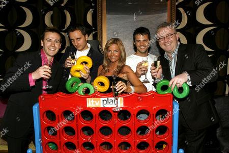 Play Channel presenters Nigel Mitchell, Chuck Thomas, Debbie King, Lee Baldry and Greg Scott