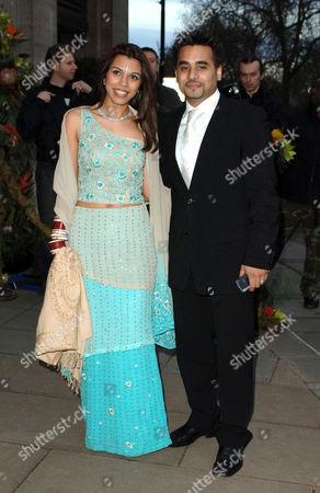 Ameet Chana with wife