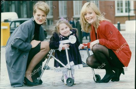 Kristy Baldock 5-year-old Spina Bifida Victim At Mcdonald's Child Of Achievement Awards With Television Presenter Gaby Roslin And Actress Tracey Childs. Box 694 129061622 A.jpg.