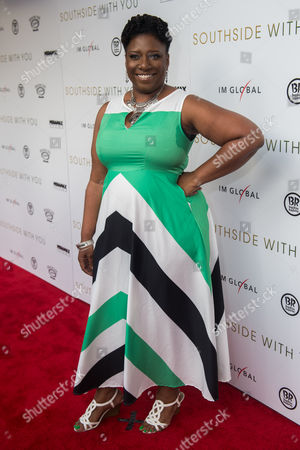 Editorial picture of 'Southside With You' film premiere, Chicago, USA - 18 Aug 2016
