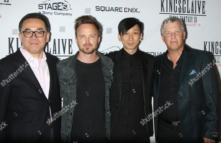 Editorial picture of 'Kingsglaive: Final Fantasy XV' film premiere, New York, USA - 18 Aug 2016