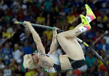 Editorial picture of Rio 2016 Olympic Games, Athletics, Olympic Stadium, Brazil - 19 Aug 2016