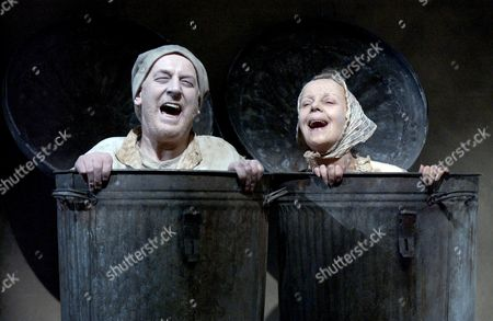 Endgame - Tom Hickey ('Nagg') and Georgina Hale ('Nell')