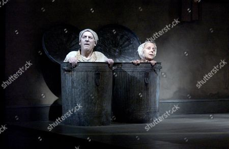Stock Image of Endgame - Tom Hickey ('Nagg') and Georgina Hale ('Nell')