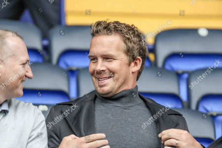 Ex Bolton Striker Kevin Davies during the EFL Sky Bet League 1 match between Bolton Wanderers and Fleetwood Town at the Macron Stadium, Bolton