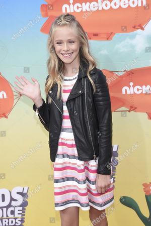 Editorial image of Nickelodeon Kids Choice Awards, Mexico City, Mexico, USA - 20 Aug 2016