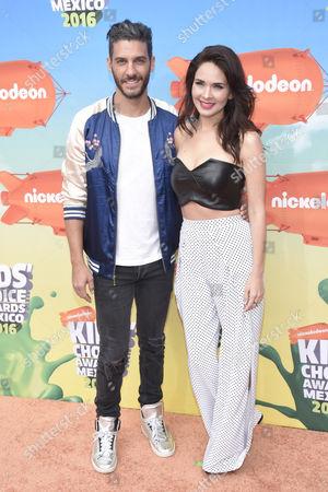 Erick Elias and Adriana Louvier