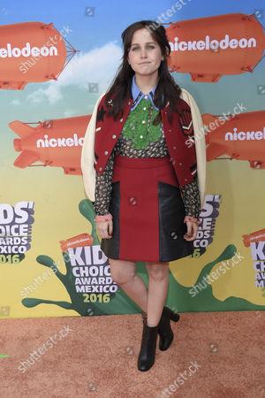 Editorial photo of Nickelodeon Kids Choice Awards, Mexico City, Mexico, USA - 20 Aug 2016