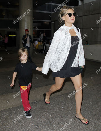 Editorial image of Kate Hudson at LAX International Airport, Los Angeles, USA - 20 Aug 2016