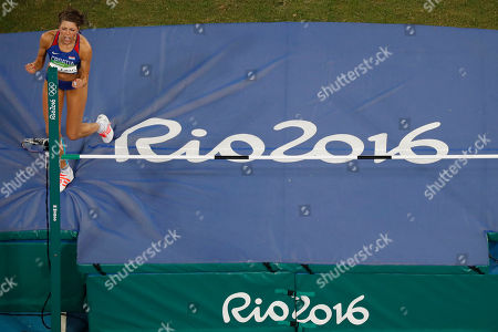 Editorial picture of Rio 2016 Olympic Games, Athletics, Olympic Stadium, Brazil - 20 Aug 2016