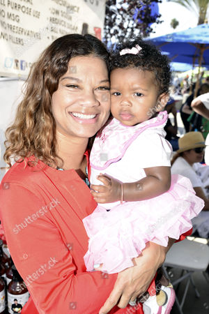 Alicia Brown, baby Bodhi Brown