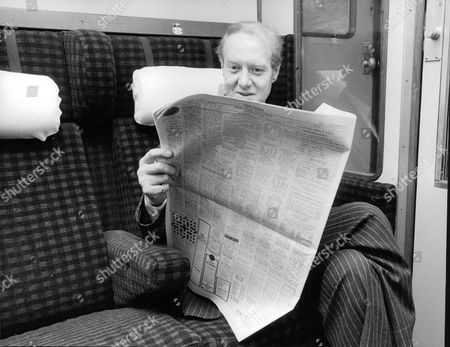 George Barker A Company Director Travelling On Train. Commuter Story. Box 698 813071664 A.jpg.