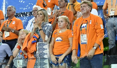Editorial picture of Dutch Royals attend The Olympic Games, Brazil  - 19 Aug 2016