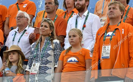 Editorial image of Dutch Royals attend The Olympic Games, Brazil  - 19 Aug 2016