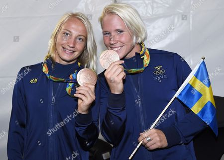 Sofia Mattsson, and Jenny Fransson, wrestlers