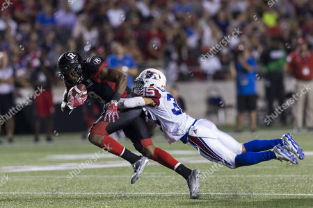 Editorial image of Montreal Alouettes v Ottawa Redblacks, CFL Football, Ottawa, Canada - 19 Aug 2016