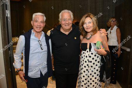 Editorial image of Massimo Gargia 76th birthday, Saint Tropez, France - 22 Aug 2016