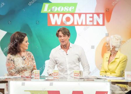 Lisa Riley, Lewis Bloor and Debbie McGee