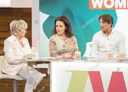 Gloria Hunniford, Lisa Riley and Lewis Bloor