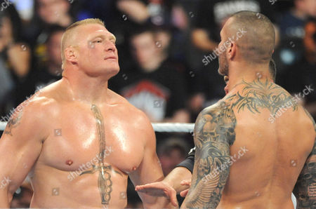 Editorial picture of WWE Summer Slam at Barclays Center, New York, America - 21 Aug 2016