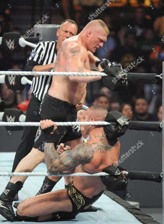 Editorial photo of WWE Summer Slam at Barclays Center, New York, America - 21 Aug 2016