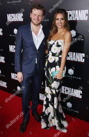 Dennis Gansel and Jessica Alba