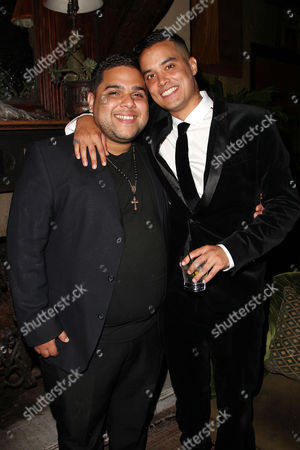 Stock Photo of Ralph Rodriguez and Brian Marc