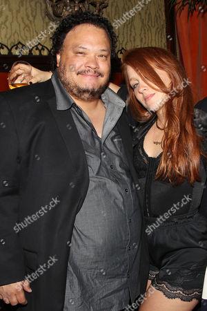 Adrian Martinez and Elizabeth Wood (Director)