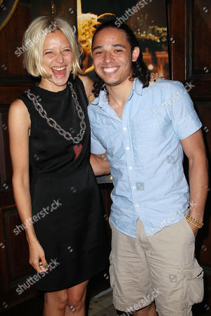 Annabelle Dexter-Jones and Anthony Ramos