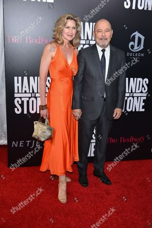 Editorial picture of 'Hands of Stone' film premiere, New York, USA - 22 Aug 2016