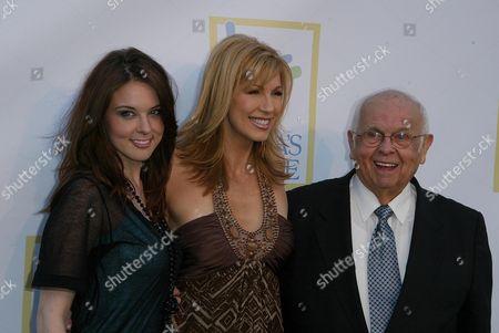 Anna Nalick, Leeza Gibbons and Johnny Grant