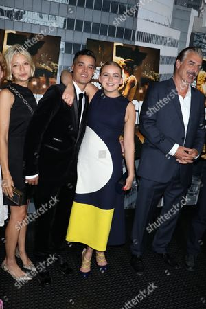 Annabelle Dexter-Jones, Brian Marc, Morgan Saylor and Chris Noth