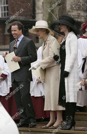 Princess Alexandra and Marina Ogilvy